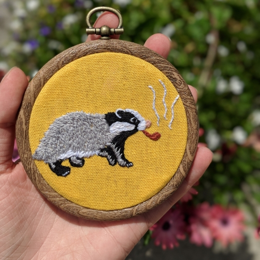 Wise Badger Piece